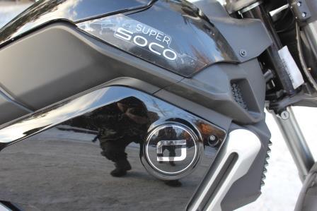 Электромотоцикл Super Soco 1200S